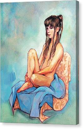 Terese Canvas Print by Roz McQuillan