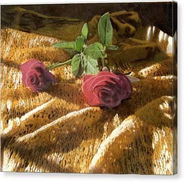 Teri's Roses Canvas Print