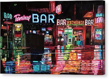Terminal Bar Canvas Print by Dominic DaSylva
