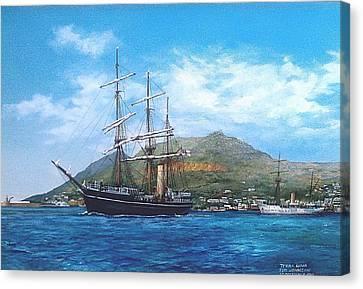 Terra Nova Canvas Print