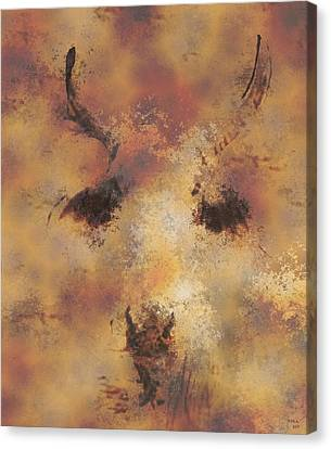 Terra Firma Canvas Print - Terra by Rora