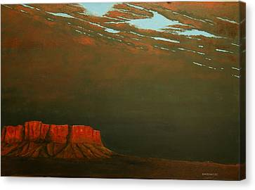 Terra Rosa Canvas Print by Kerry Beverly