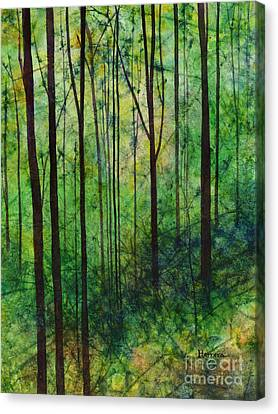 Bare Trees Canvas Print - Terra Verde by Hailey E Herrera