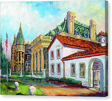 Terrace Villas Canvas Print
