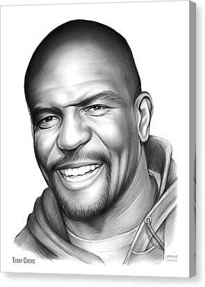Terry Crews Canvas Print