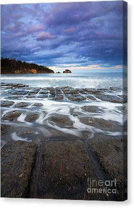 Tessellated Flow Canvas Print by Mike  Dawson
