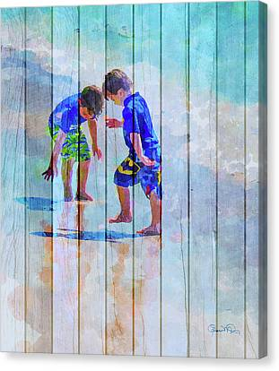 A Summer To Remember Ivc Canvas Print by Susan Molnar