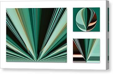 Test Sized White Canvas Print by Kathy K McClellan