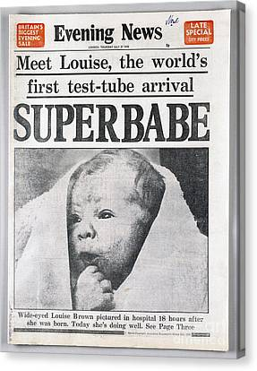 Test-tube Baby, 1978 Canvas Print by Granger