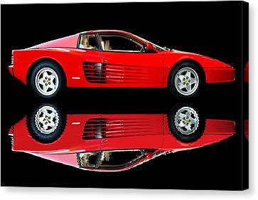 Testarossa Reflections Canvas Print