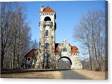 Testimonial Gateway Tower #1 Canvas Print by Jeff Severson