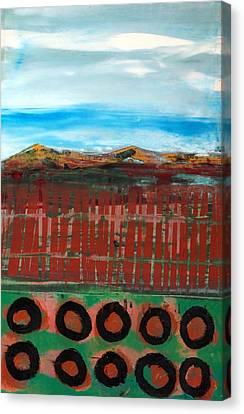 Tesuque Pueblo Canvas Print by Jorge Luis Bernal
