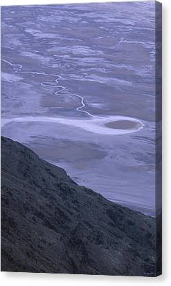 Tethered Comet - Badwater Basin -282 Canvas Print
