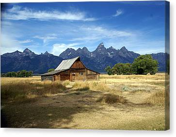 Teton Barn 3 Canvas Print