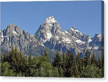 Teton Grande Canvas Print
