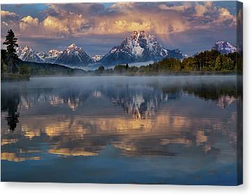 Teton Morning Canvas Print