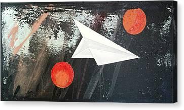 Tetrad Moon #2 Canvas Print by Roxanne Green