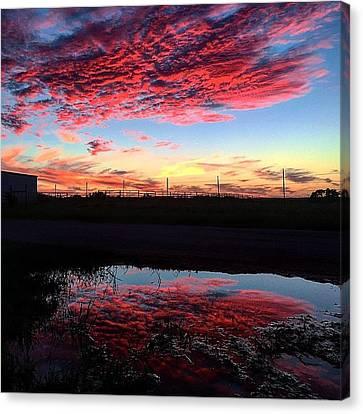 Texan Sky Canvas Print by Hunter Martin