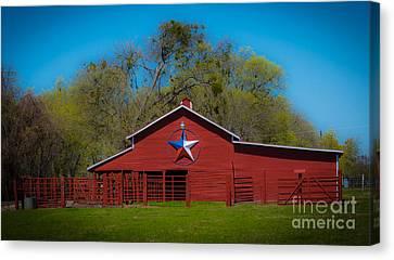 Texas Barn Canvas Print