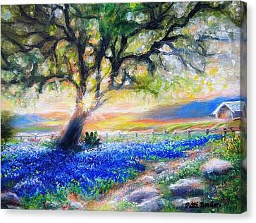 Texas Fanfare Canvas Print
