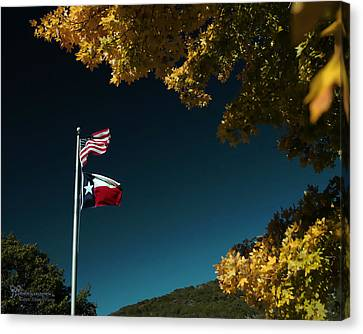 Texas Pride Canvas Print by Karen Musick