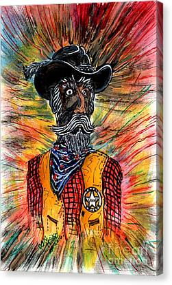 Texas Ranger Canvas Print by Don Hand
