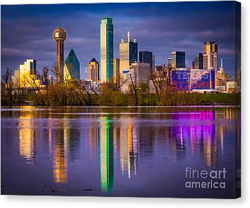 Texas Strong Canvas Print by Inge Johnsson