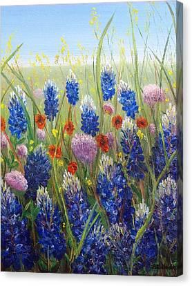 Texas Tangle Canvas Print