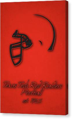Texas Tech Red Raiders Canvas Print by Joe Hamilton