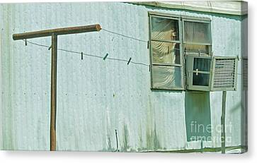Texas Trailer Canvas Print