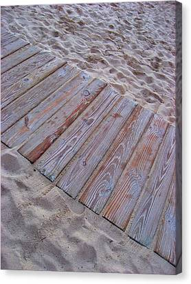 Texture. Beach. Sand.  Canvas Print by Andy Za