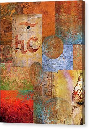 Rust Canvas Print - Texture by Jacky Gerritsen