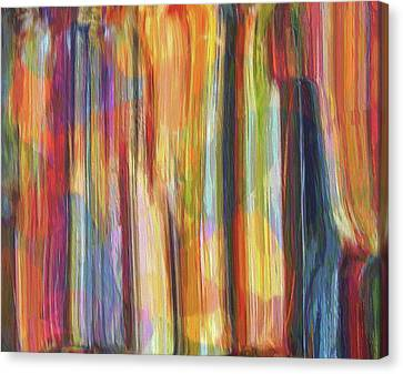 Jackson 5 Canvas Print - Textured Abstract Number 5 by Dan Sproul