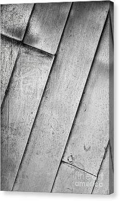 Textured Silver Metal Abstract Background Canvas Print