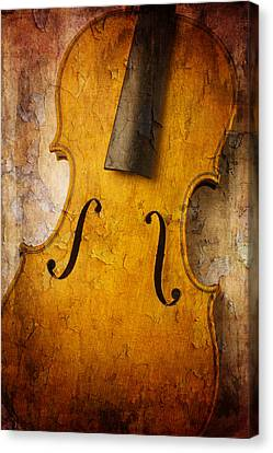 Textured Violin Canvas Print
