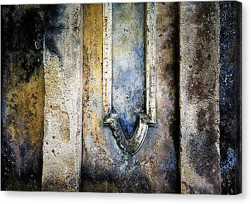 Canvas Print featuring the photograph Textured Wall by Marion McCristall
