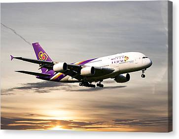 Thai Airlines Canvas Print
