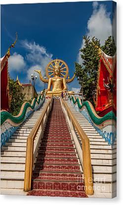 Thai Big Buddha Canvas Print