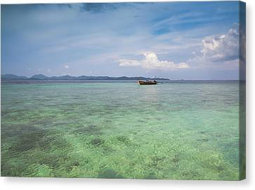 Thai Nok, Thailand Canvas Print by Photo by Jim Boud