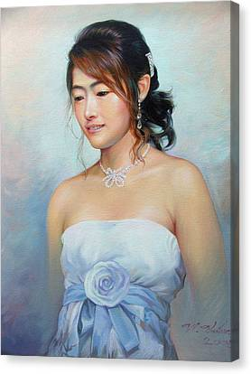 Thai Woman Canvas Print