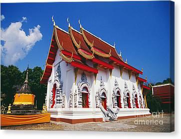 Thailand, Wat Doi Tung Canvas Print by Bill Brennan - Printscapes