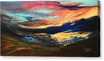 Thalo Canvas Print