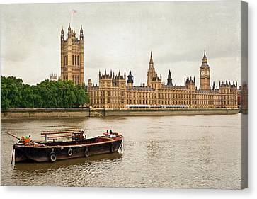 Thames Canvas Print by Keith Armstrong