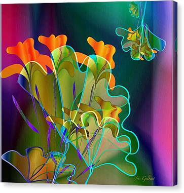 Thanksgiving Bouquet Canvas Print by Iris Gelbart