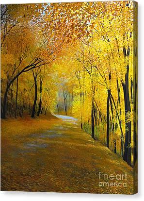 Thanksgiving Day Canvas Print by David Bottini