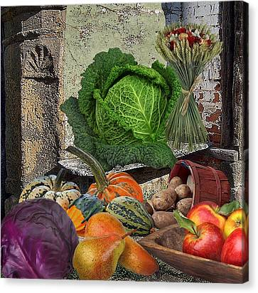 Thanksgiving Canvas Print by Manfred Lutzius