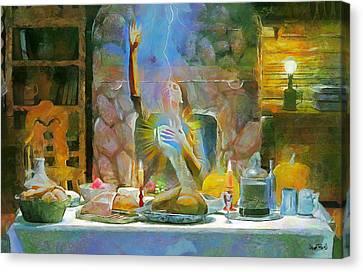 Thanksgiving Canvas Print by Wayne Pascall