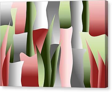 That Crimson Glow Canvas Print by Tara Hutton