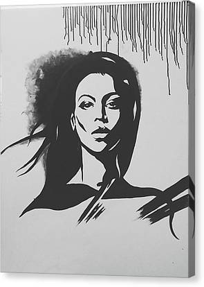 That Girl Canvas Print by Farzana Matin