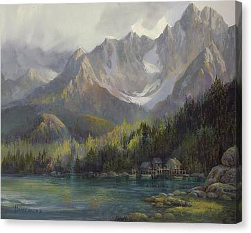 Canvas Print - That Glorious Light by Michael Humphries